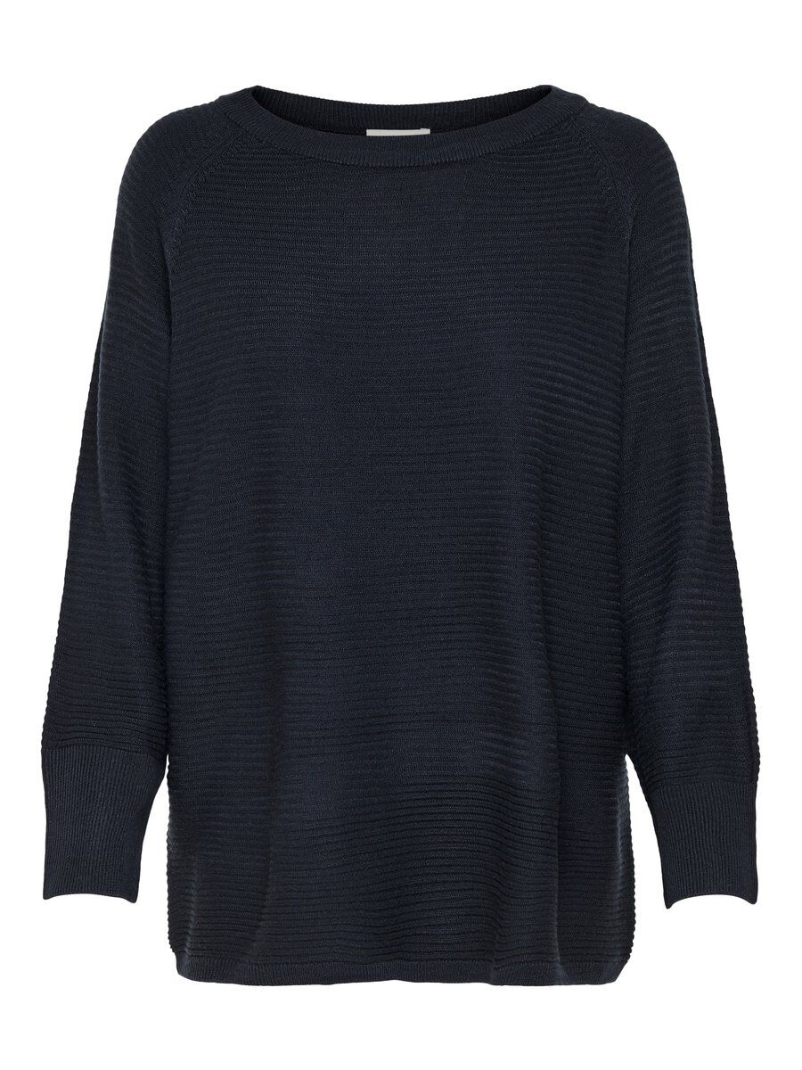 ONLY Oversized Knitted Pullover Women Blue