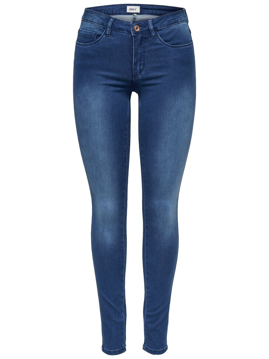 ONLY Royal Reg Skinny Fit Jeans Damen Blau
