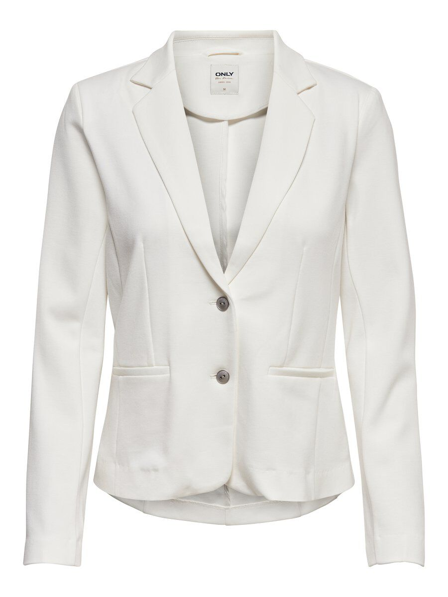 ONLY Einfarbiger Blazer Damen White