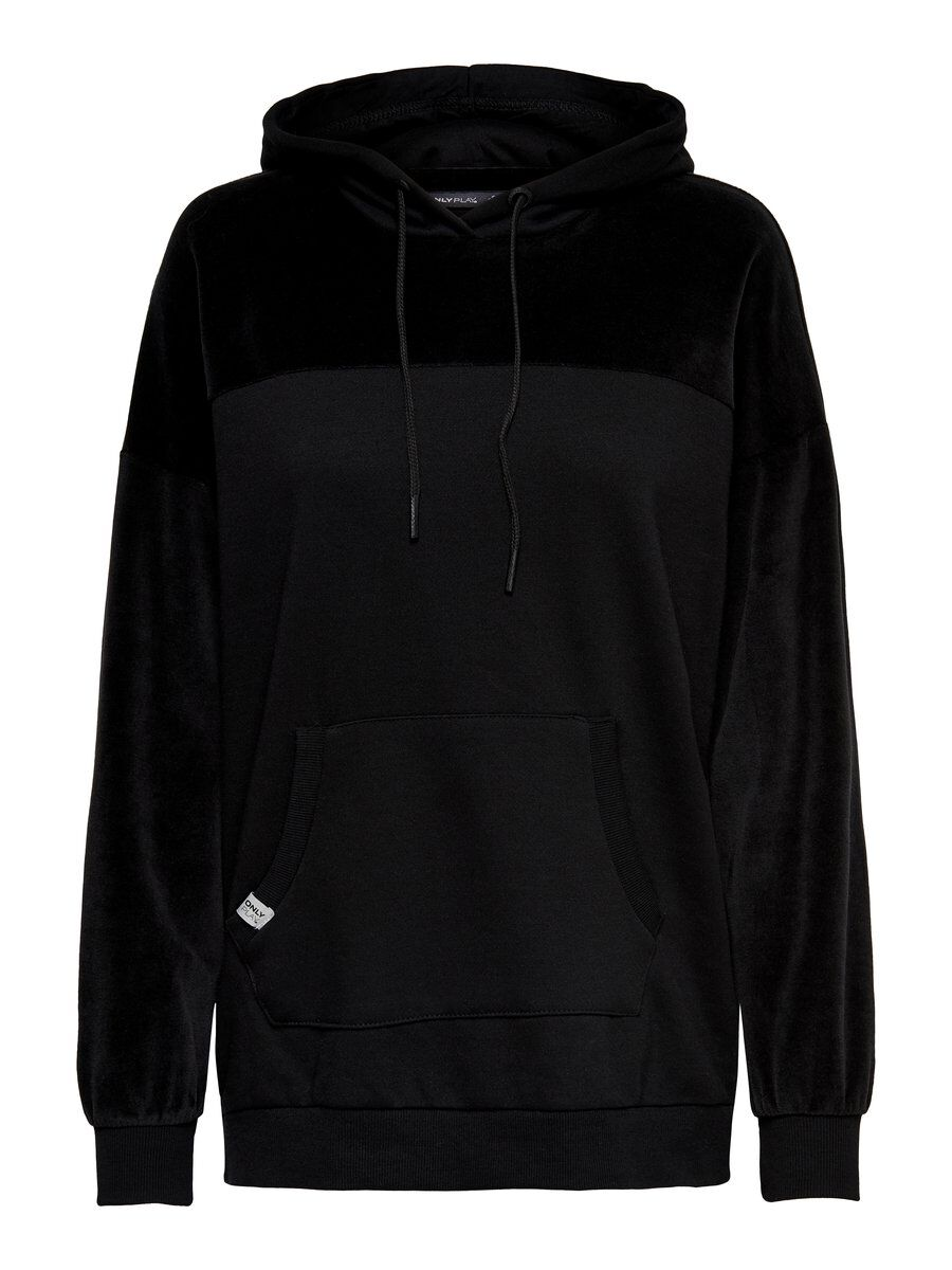 ONLY Langes Sweatshirt Damen Schwarz