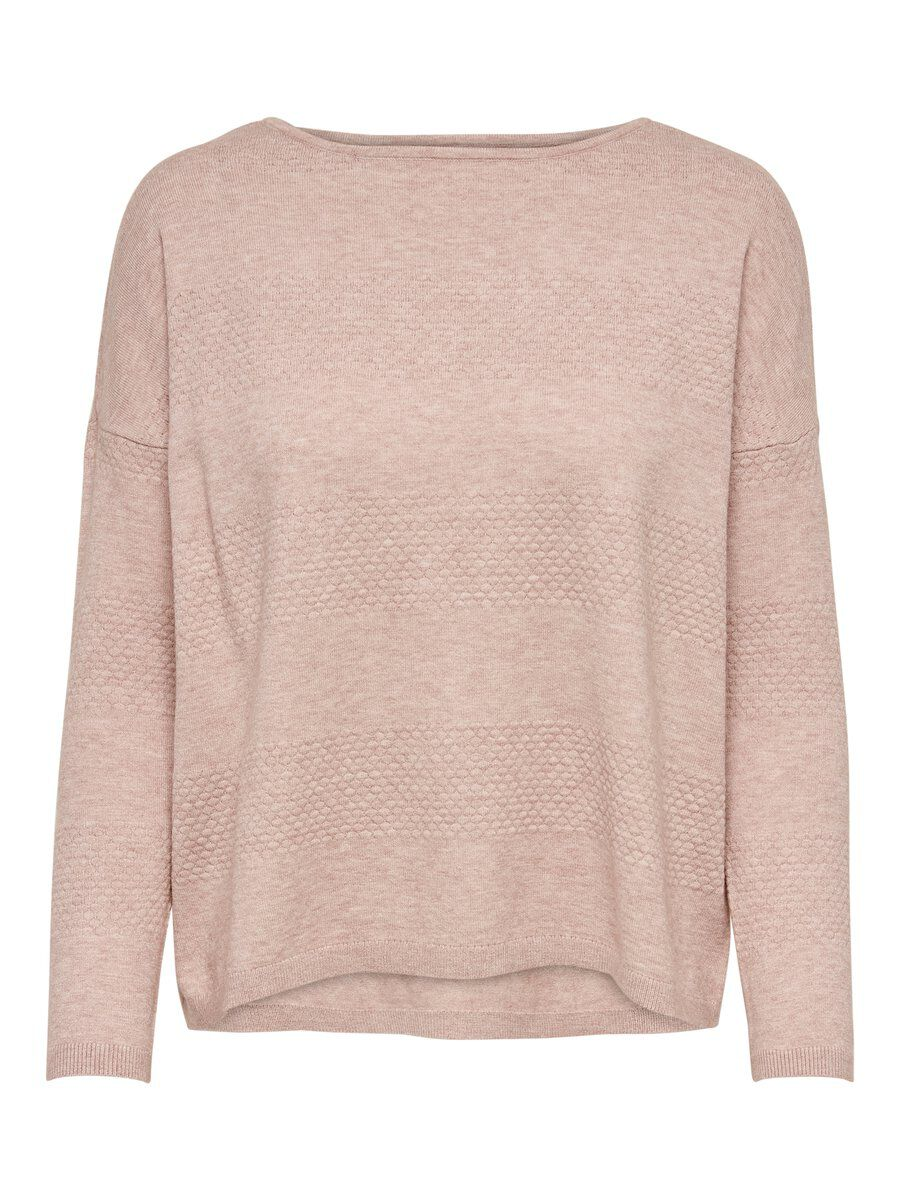 ONLY Loose Knitted Pullover Women Pink