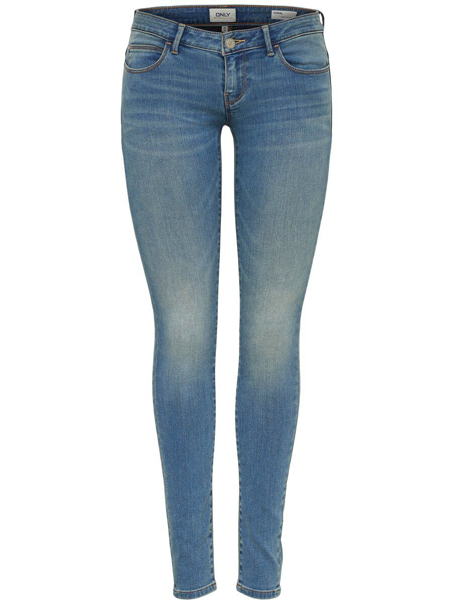 ONLY Onlcoral Sl Skinny Fit Jeans Damen Blau
