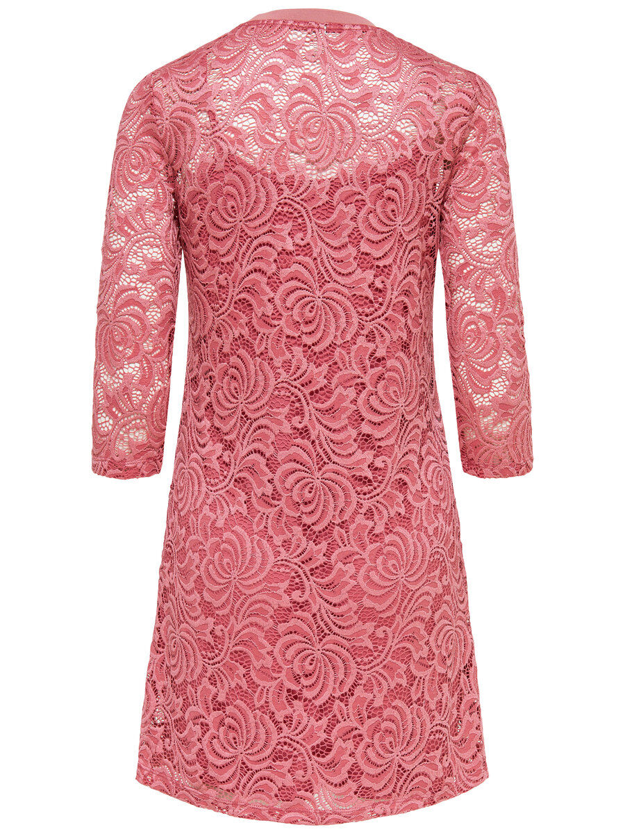 ONLY Spitzen Kleid Damen Pink