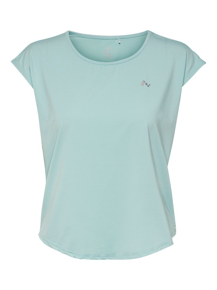 ONLY Lockeres Trainingstop Damen Blau | Sportbekleidung > Sporttops | Blau | ONLY
