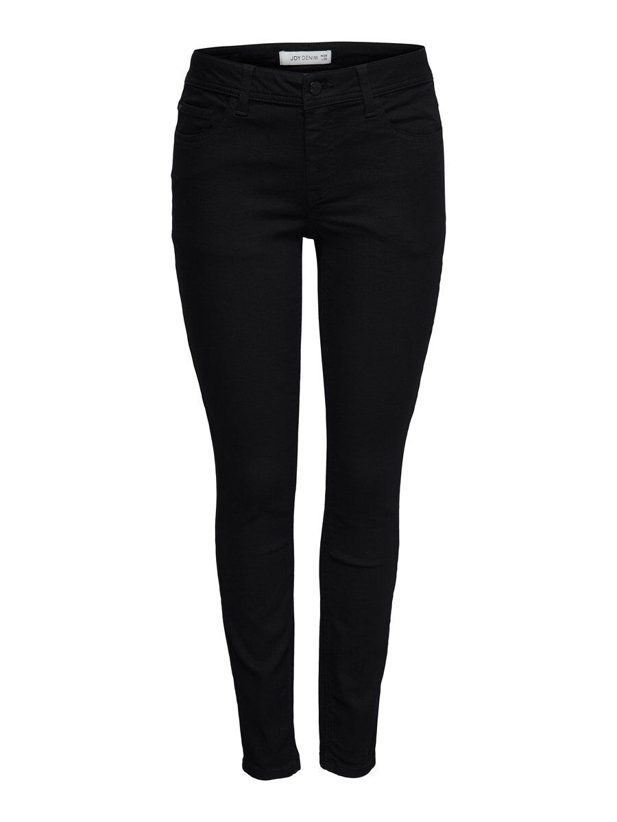 ONLY Jdymagic Rw Black Skinny Fit Jeans Damen Schwarz