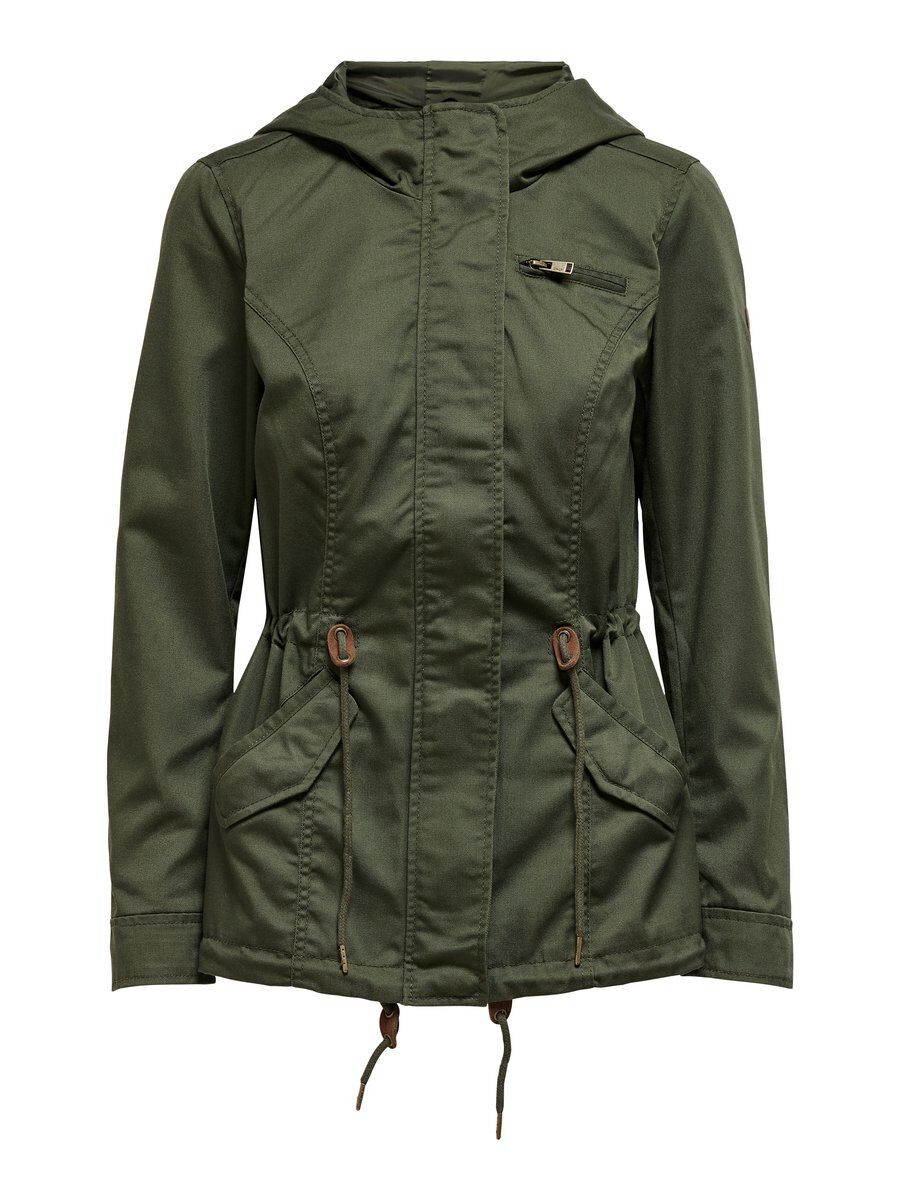 Only Tussen Parka Dames Green