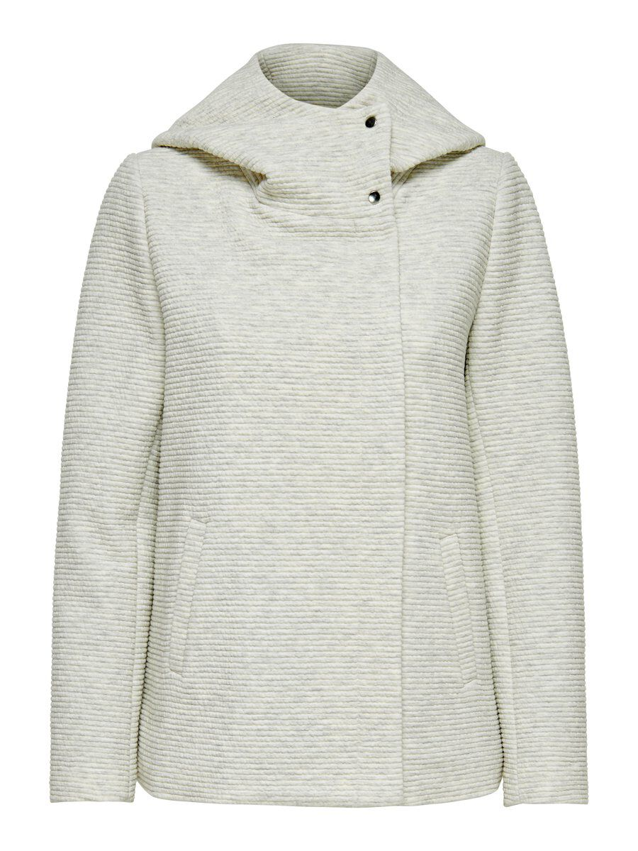 ONLY Kurze Übergangs Jacke Damen White