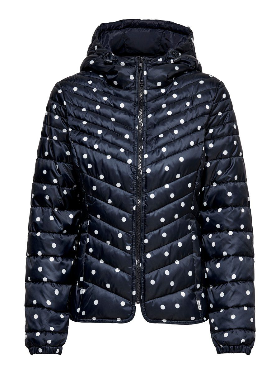 ONLY Print Steppjacke Damen Blau