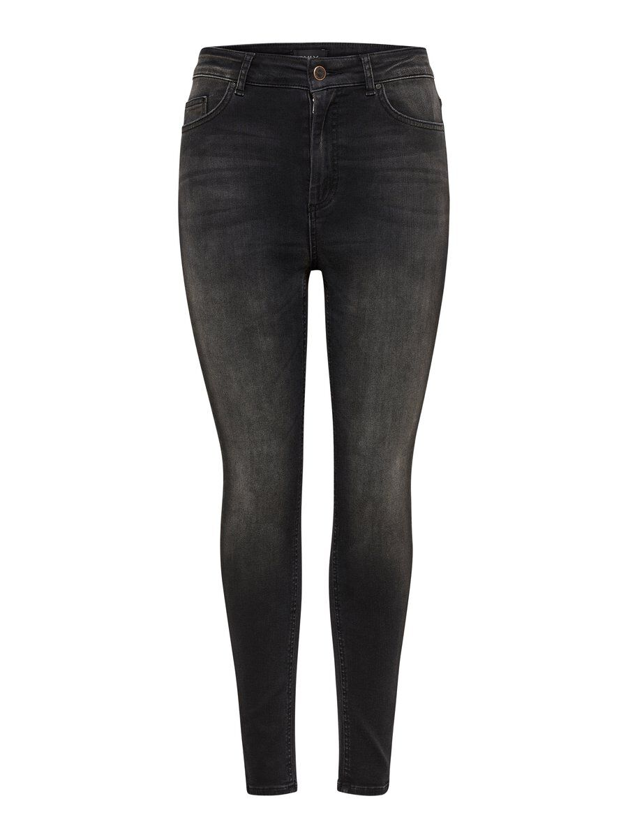ONLY Onlx High Skinny Fit Jeans Damen Schwarz