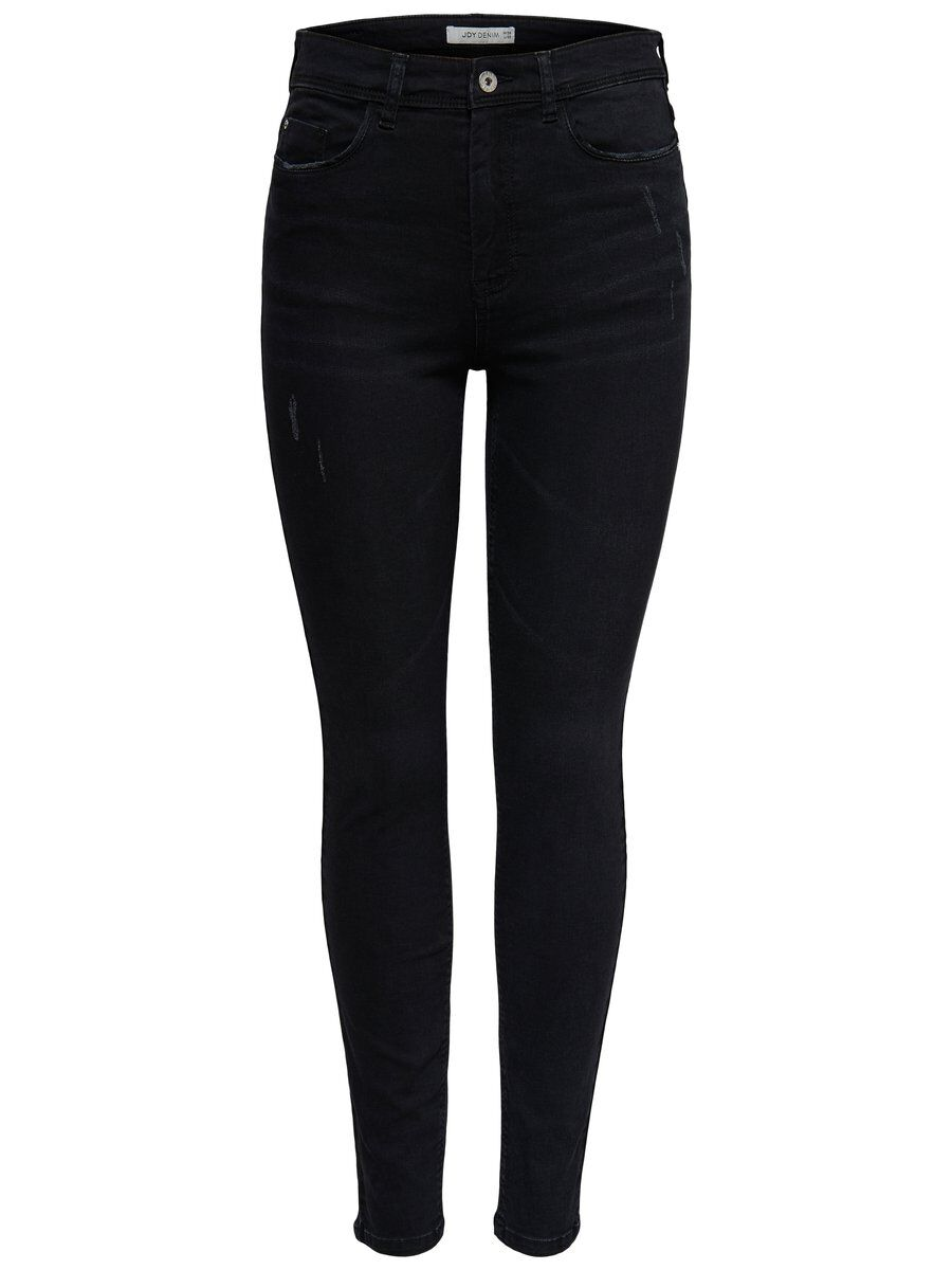 ONLY Jdyjona High Black Skinny Fit Jeans Damen Schwarz