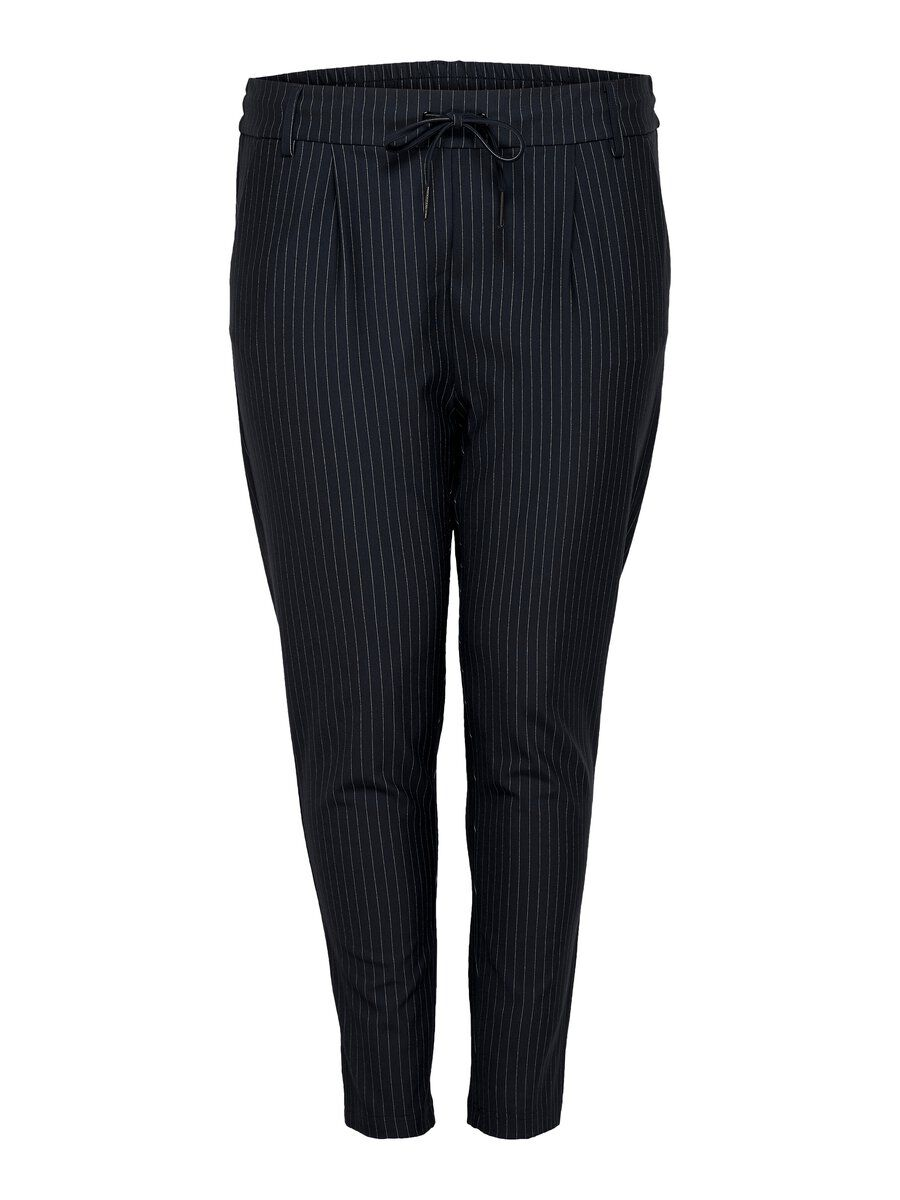 ONLY Curvy Pinstriped Trousers Women Blue