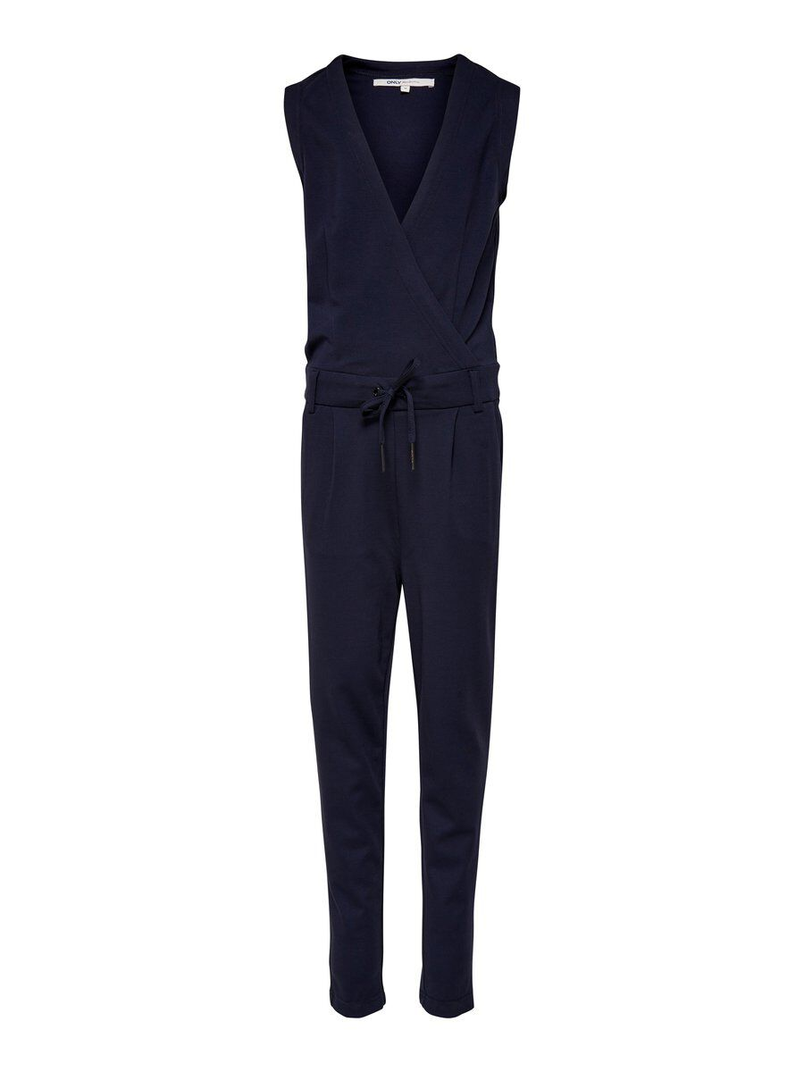 ONLY Poptrash Jumpsuit Damen Blau | Bekleidung > Homewear > Jumpsuits | ONLY