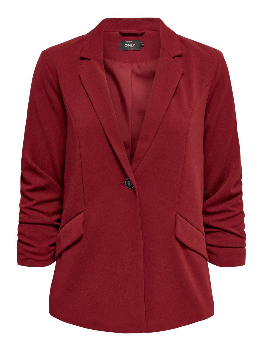 ONLY Lockerer Blazer Damen Brown; Red