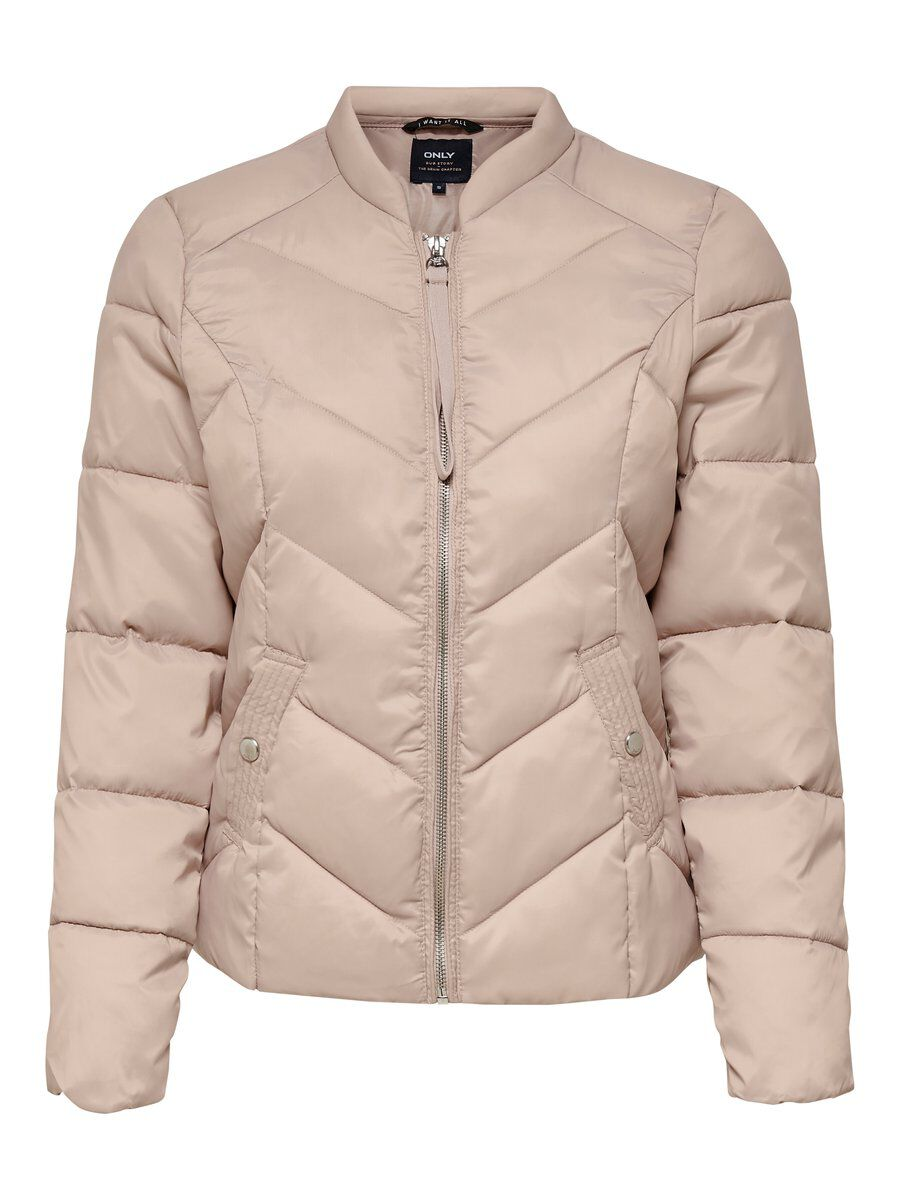 ONLY Nylon Steppjacke Damen Grau