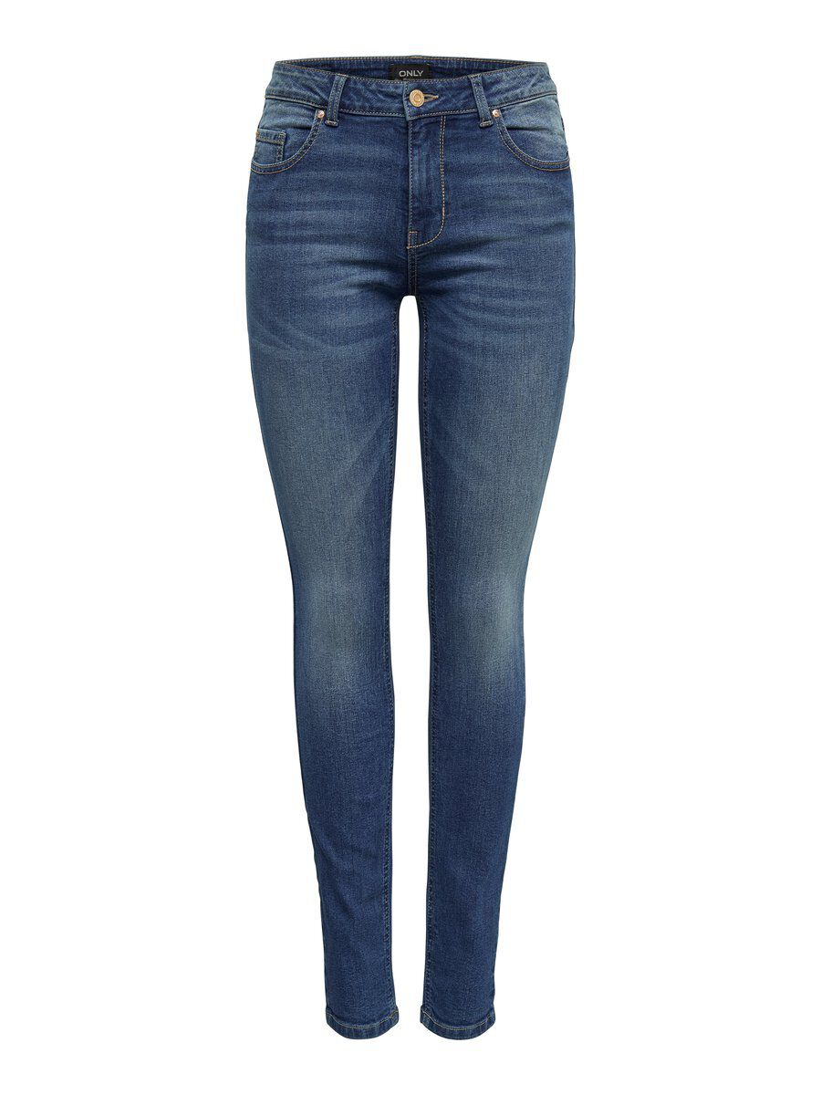 ONLY Onlhush Ankle Skinny Fit Jeans Damen Blau