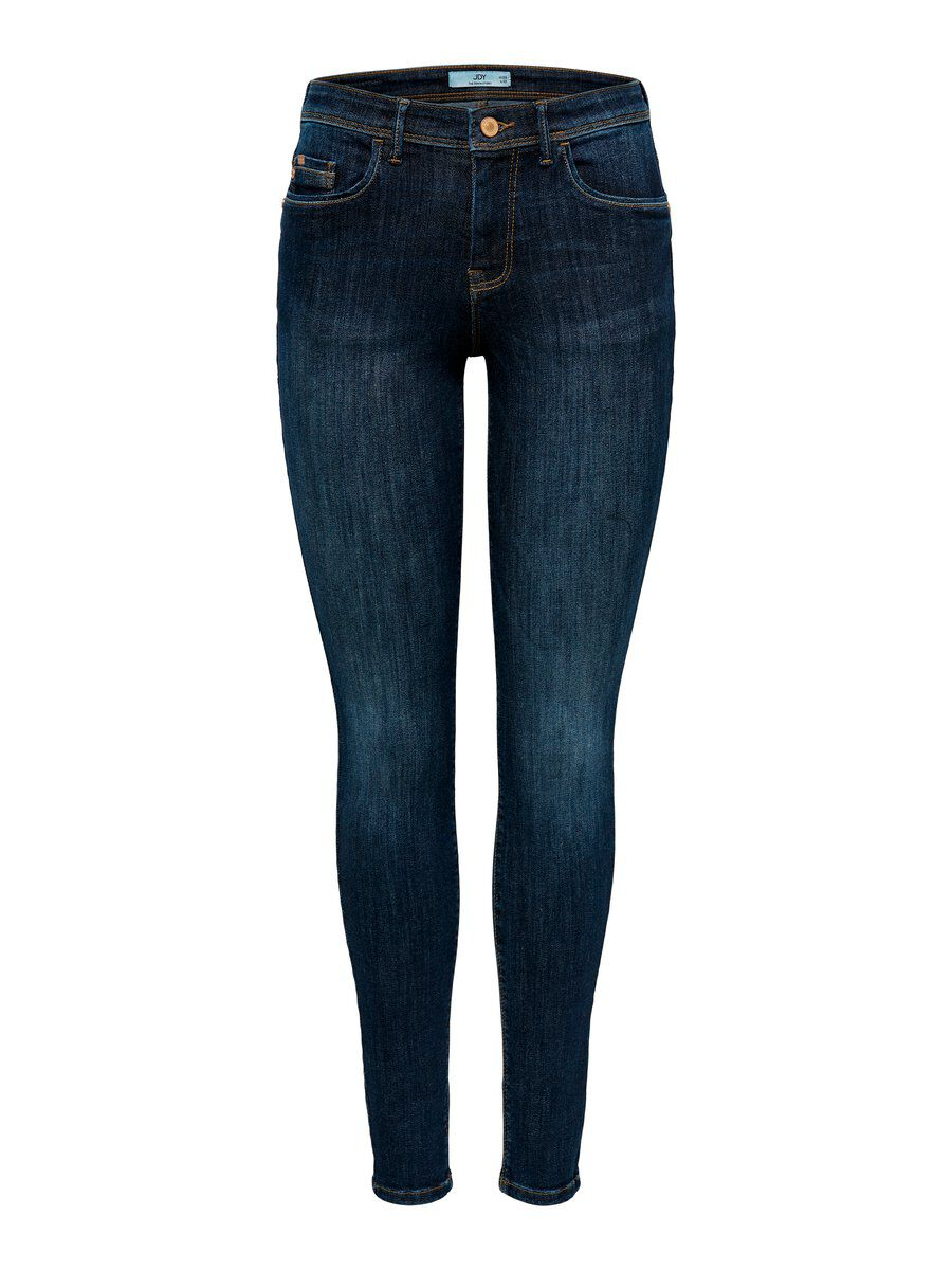 ONLY Jdyknight Reg Skinny Fit Jeans Damen Blau