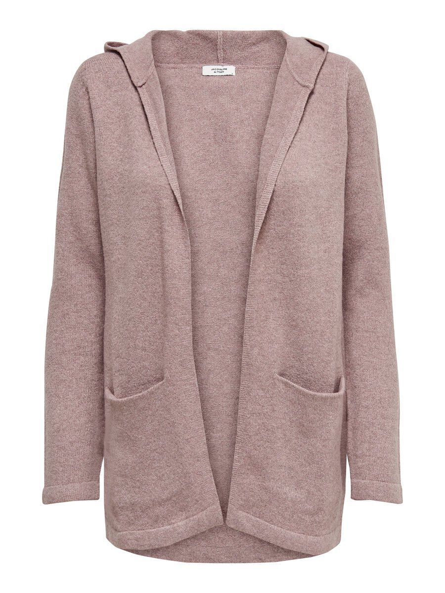 ONLY Detailstrick Strickjacke Damen Pink