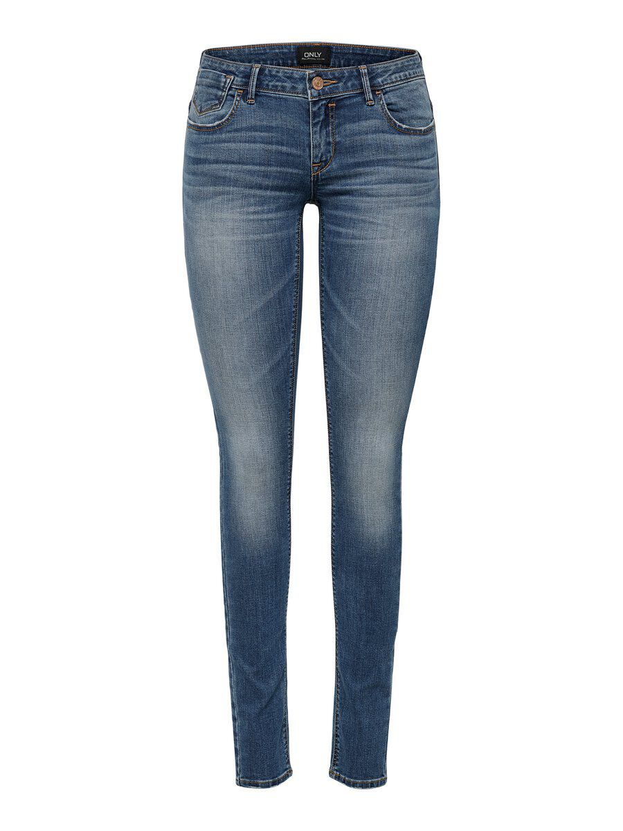 Onlcoral superlow skinny fit jeans, only