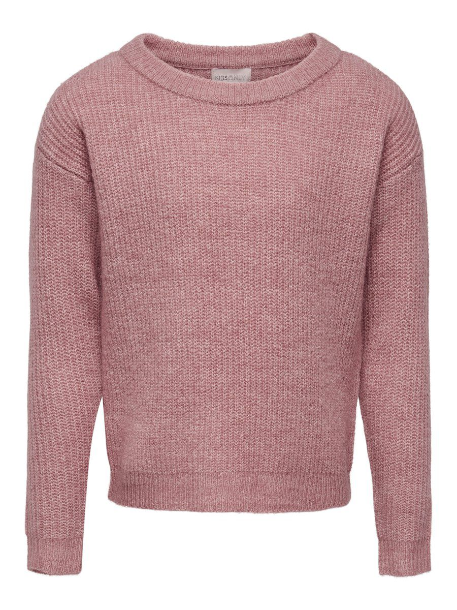 ONLY Detailed Knitted Pullover Damen Pink