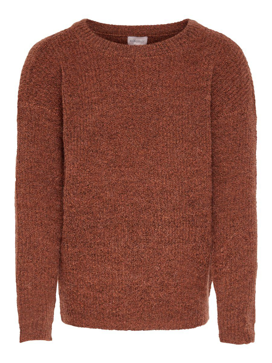 ONLY Detailed Knitted Pullover Damen Braun