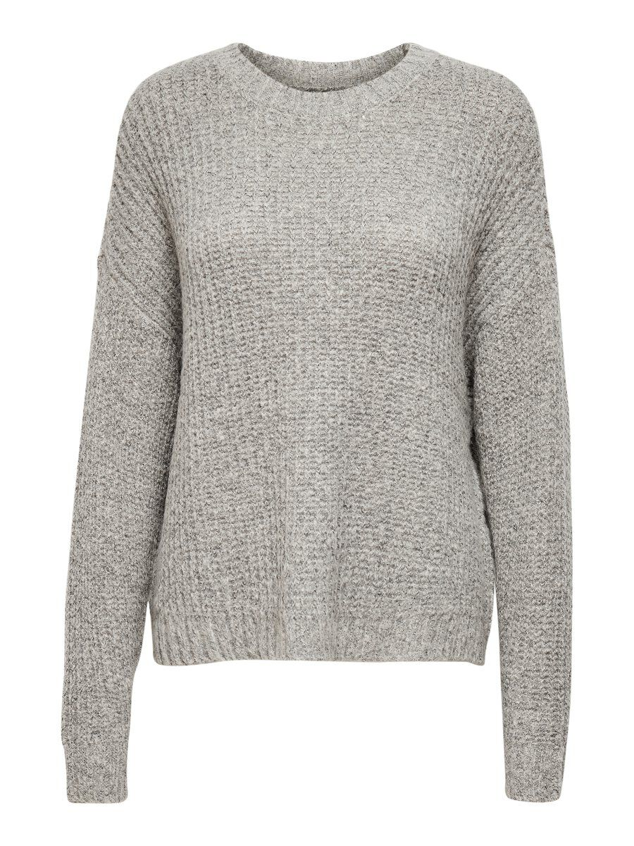 ONLY Loose Fit Strickpullover Damen White