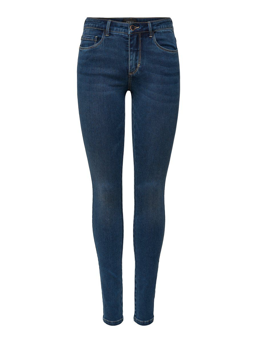 ONLY Onlroyal Reg Skinny Fit Jeans Damen Blau