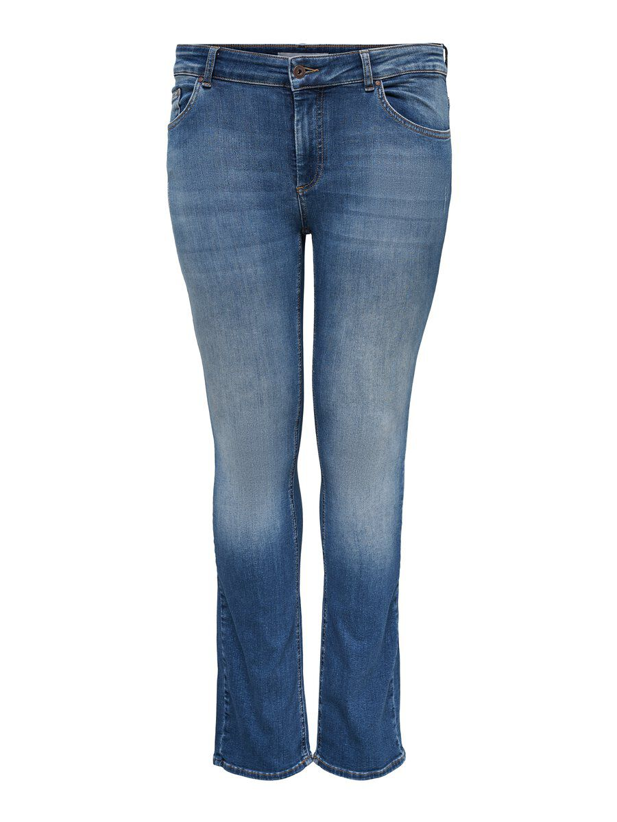 ONLY Carwilly Reg Straight Fit Jeans Women Blue
