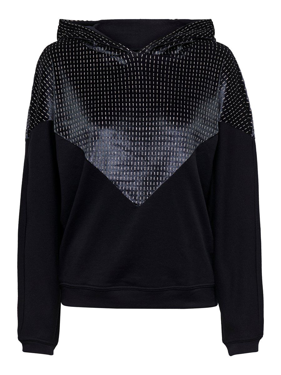 ONLY Detailreiches Sweatshirt Damen Blau