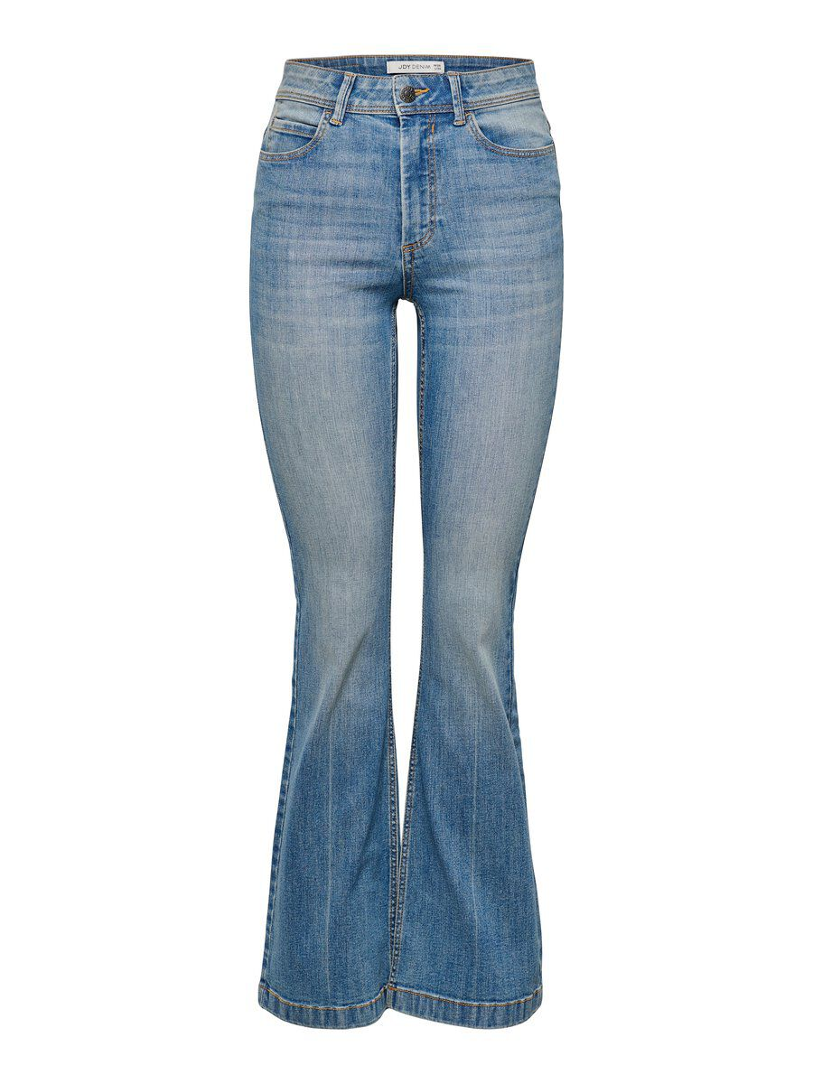 ONLY Jdy Flora High Flared Jeans Damen Blau