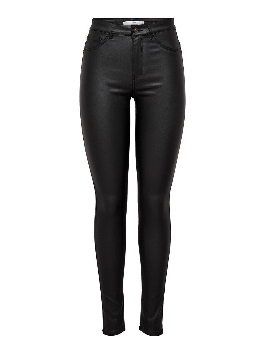 ONLY Beschichtete Jdythunder High Skinny Fit Jeans Damen Schwarz