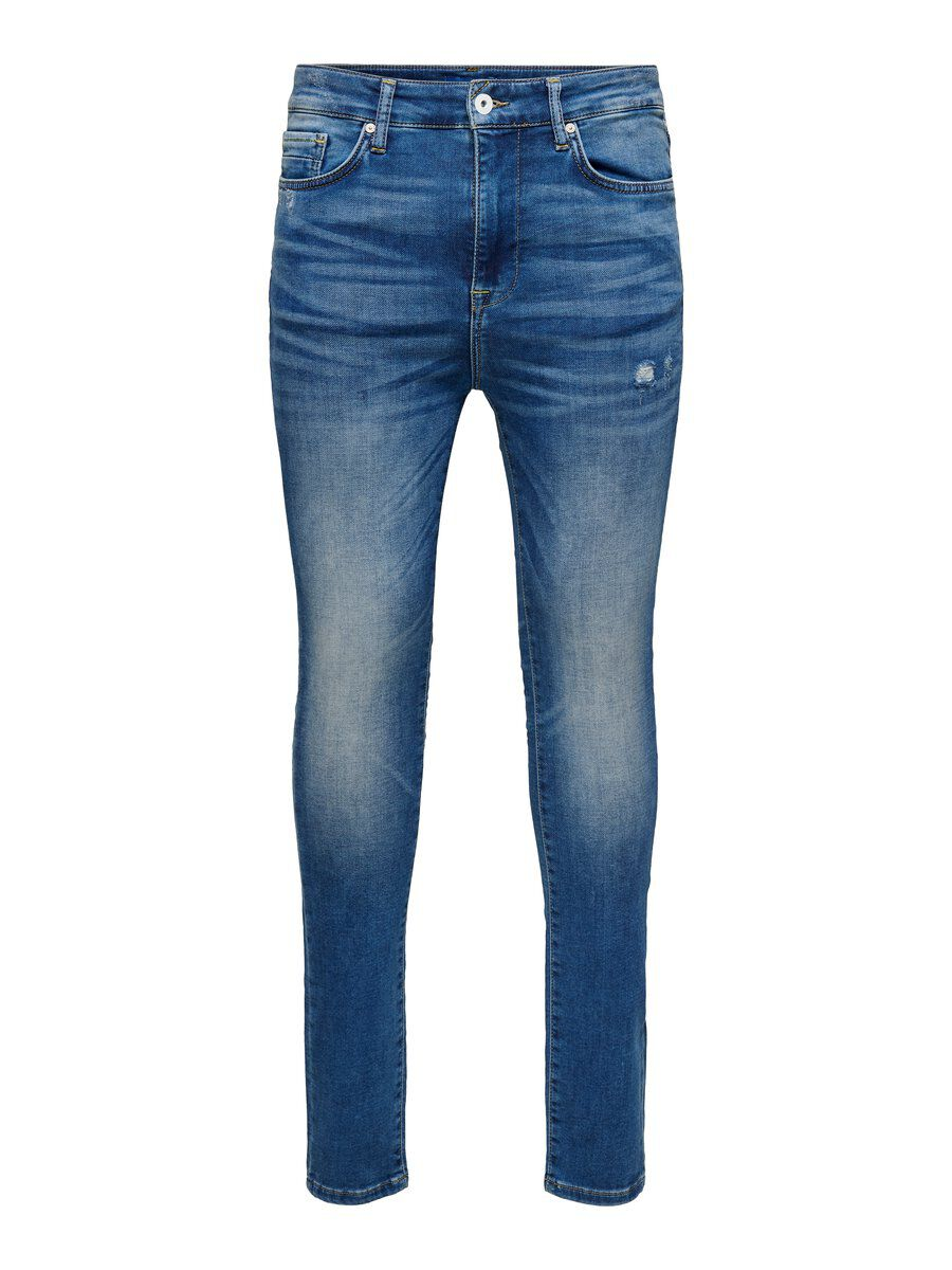 ONLY Onmstan Skinny Fit Jeans Men Blue
