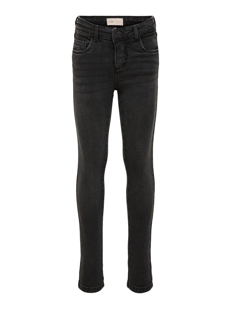 ONLY Black Skinny Fit Jeans Damen Schwarz