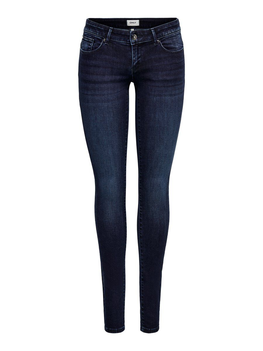 ONLY Onlcoral Life Sl Skinny Fit Jeans Damen Blau