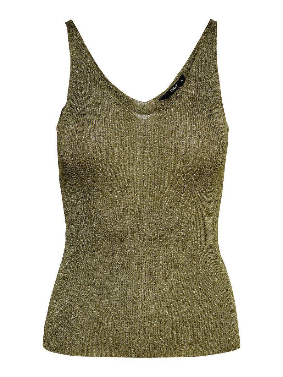 ONLY Knitted Tank Top Damen Grün