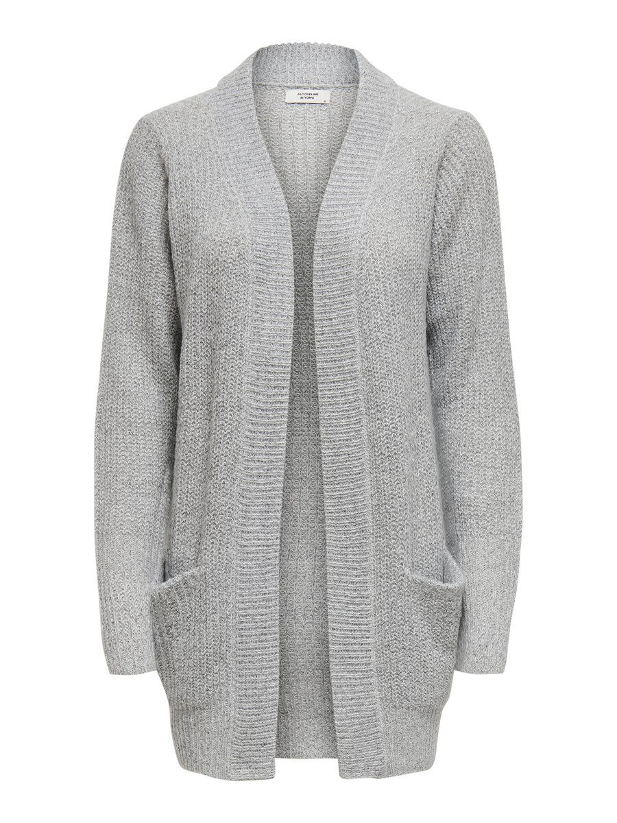 ONLY Long Knitted Cardigan Dames White