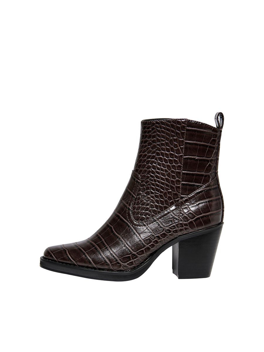 ONLY Texture Bottes Women Brown