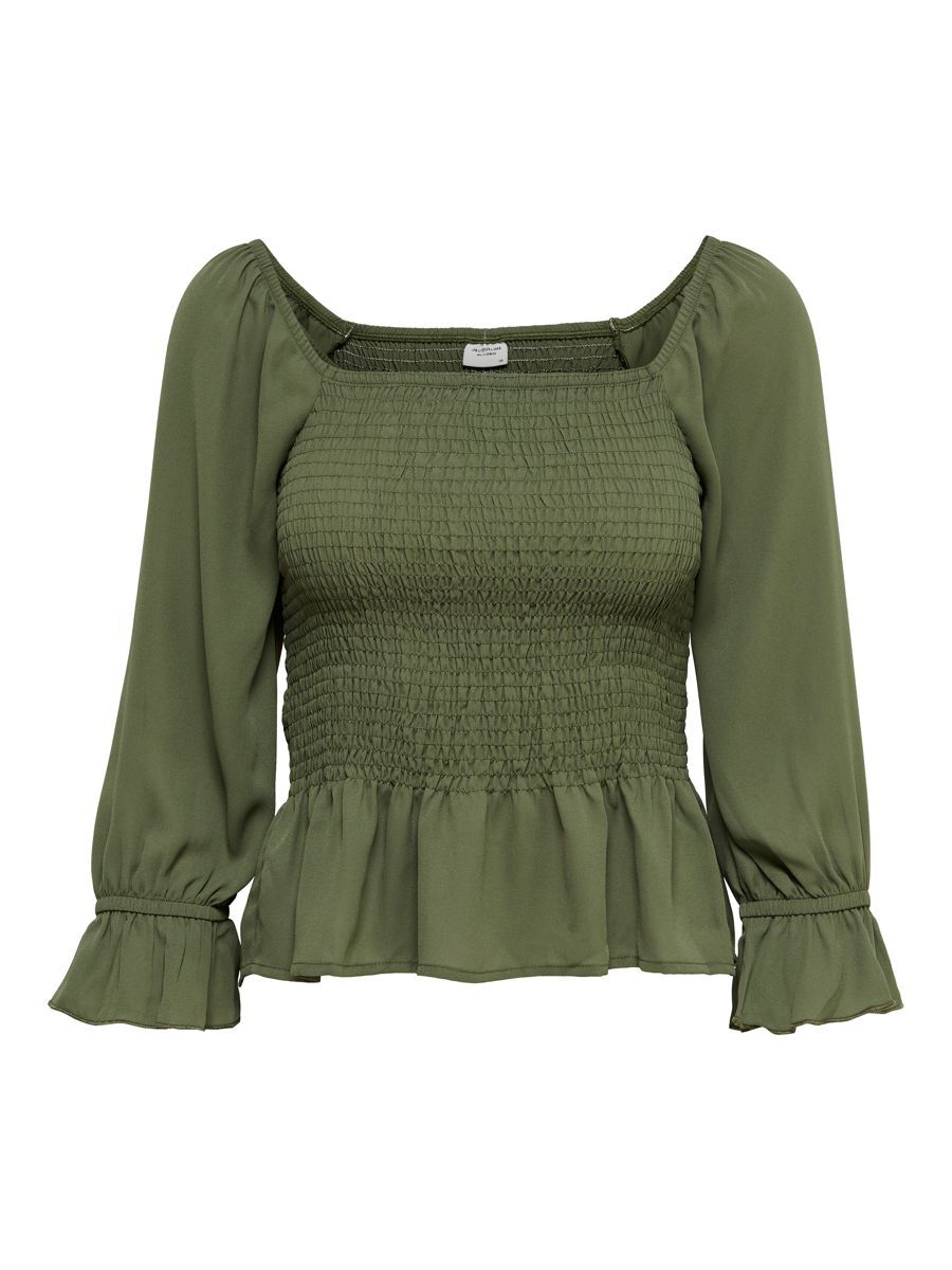 ONLY Smock Top Dames Green