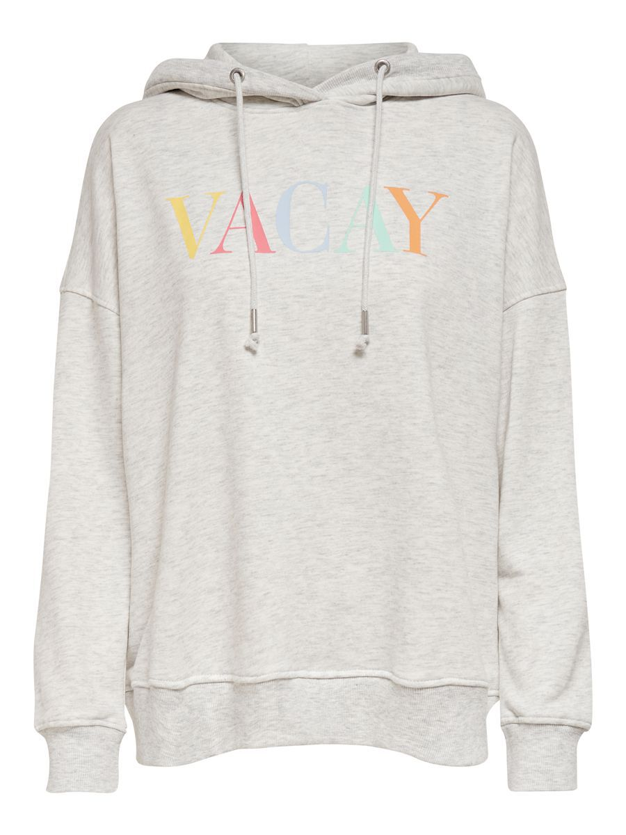 ONLY Statement Hoodie Dames White