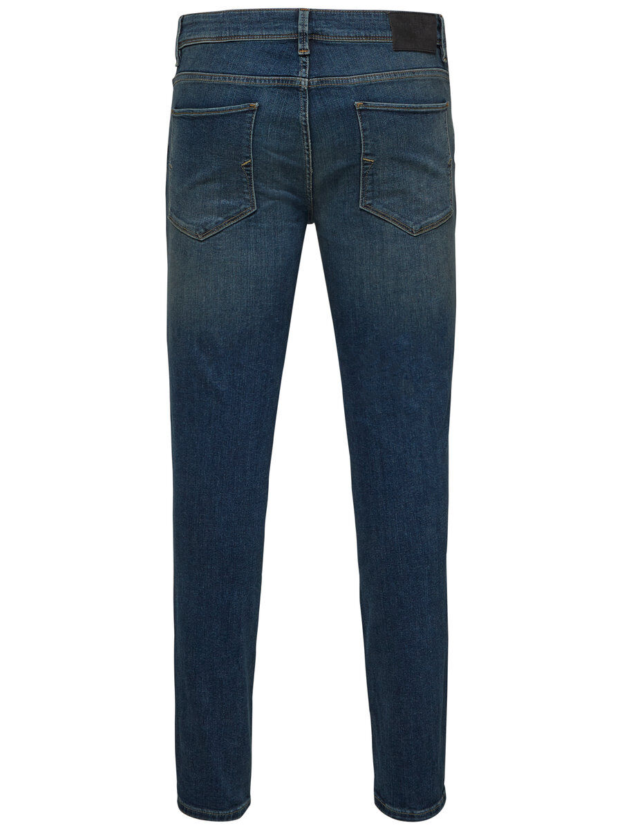 Bilde av SELECTED 1004 - Skinny Fit Jeans Men Blue