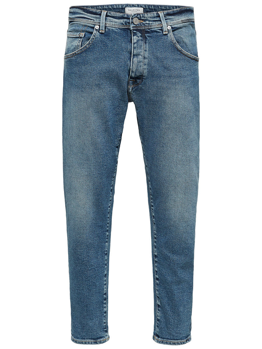 Bilde av SELECTED 1451 - Avsmalnede Jeans Men Blue