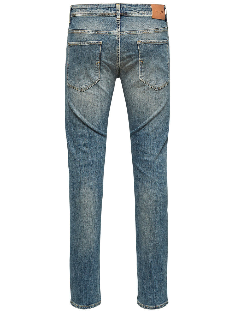 Bilde av SELECTED 1452 - Slim Fit Jeans Men Blue