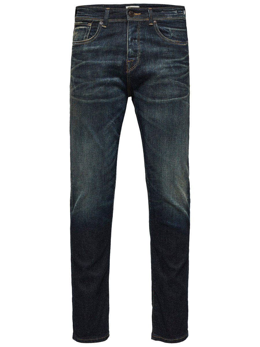 Bilde av SELECTED 1454 - Avsmalnede Jeans Men Blue