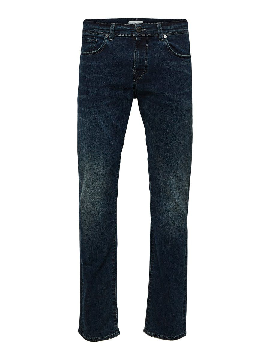 SELECTED 1478 Slim Fit Jeans Herren Schwarz | Bekleidung > Jeans > Slim Fit Jeans | Black denim | Jeans - Baumwolle | SELECTED
