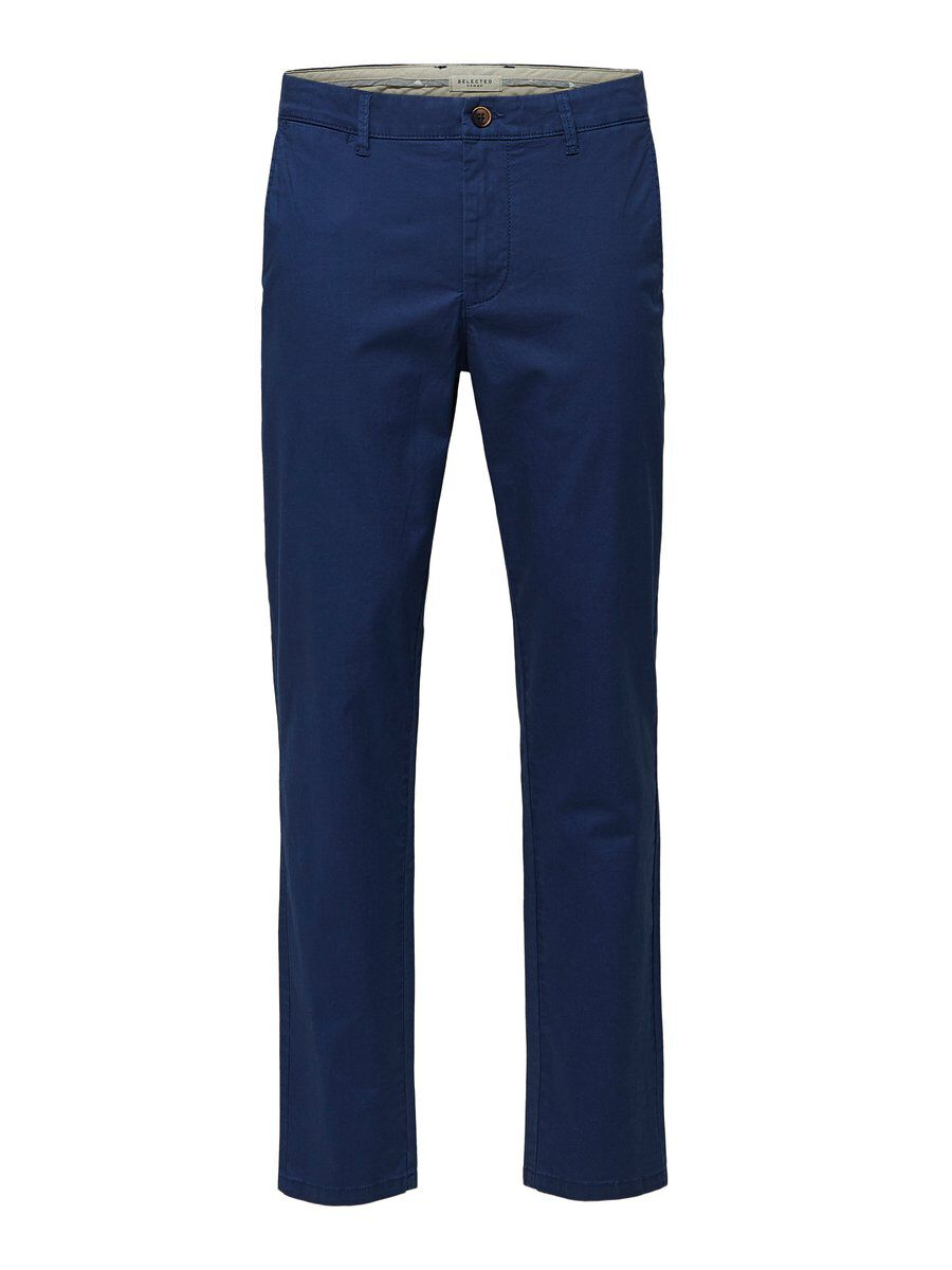 SELECTED Slhyard Slim Fit - Chino Herren Blau | Bekleidung > Hosen > Chinohosen | Medieval blue | SELECTED
