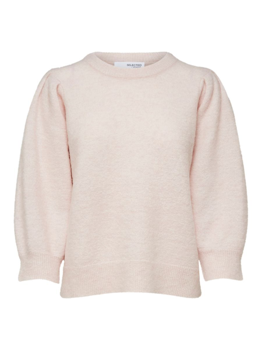 SELECTED Laine, Alpaga, Manches Bouffantes Pullover Women pink