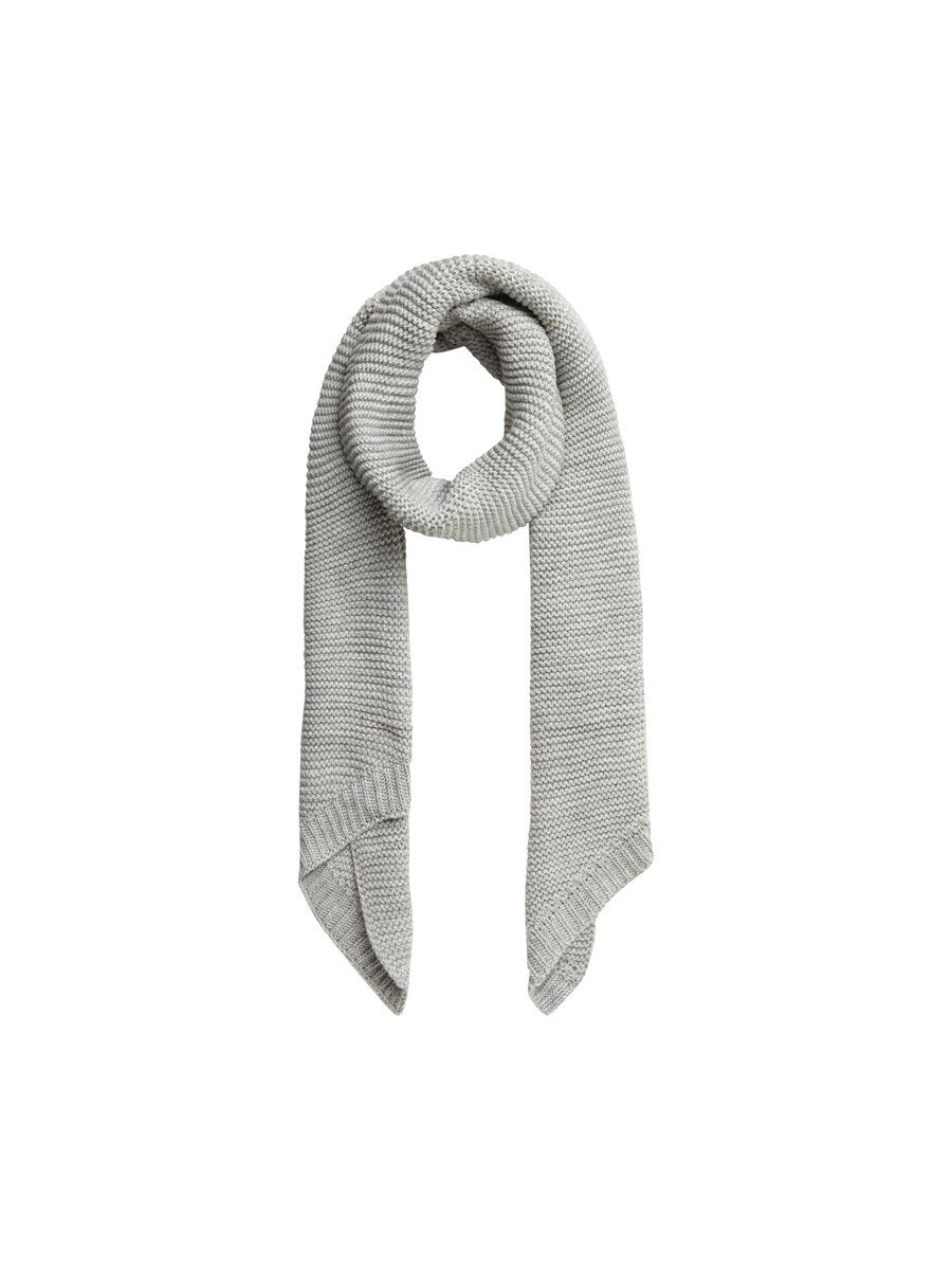 PIECES Laine Unie Écharpe Women grey