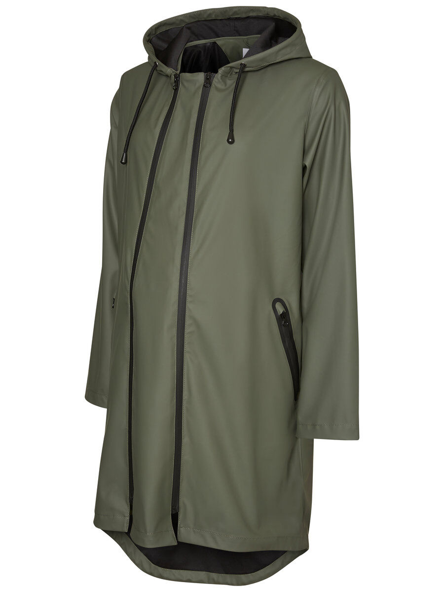 MAMA.LICIOUS 2-in-1 Rain Maternity Jacket Women Green
