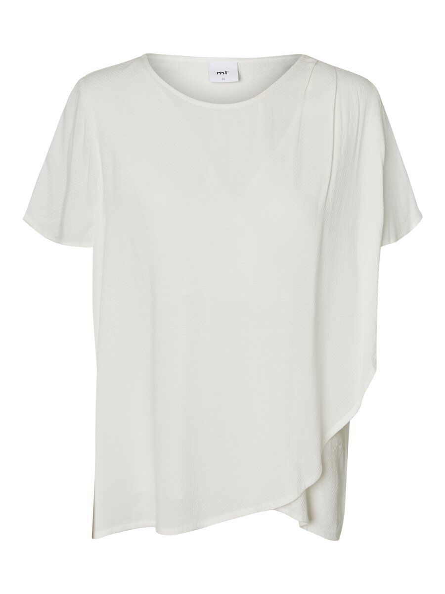 MAMA.LICIOUS Woven Nursing Top Women White