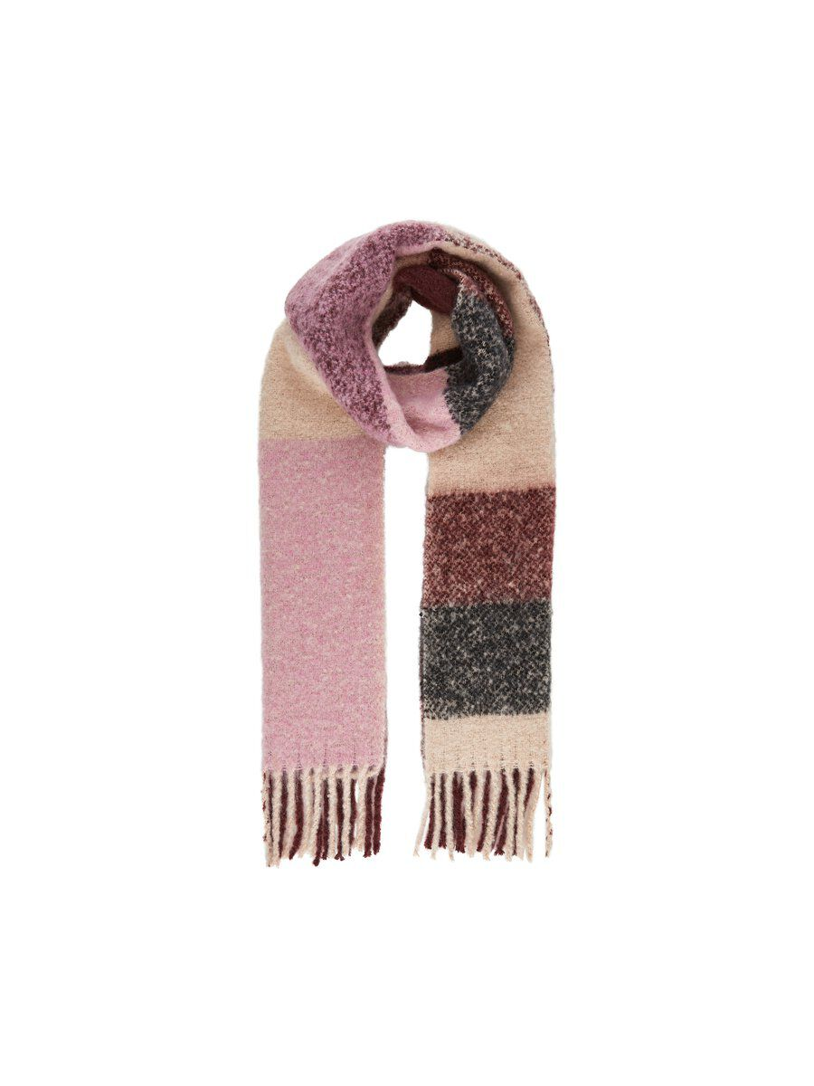 MAMA.LICIOUS Maille Foulard Long Women red