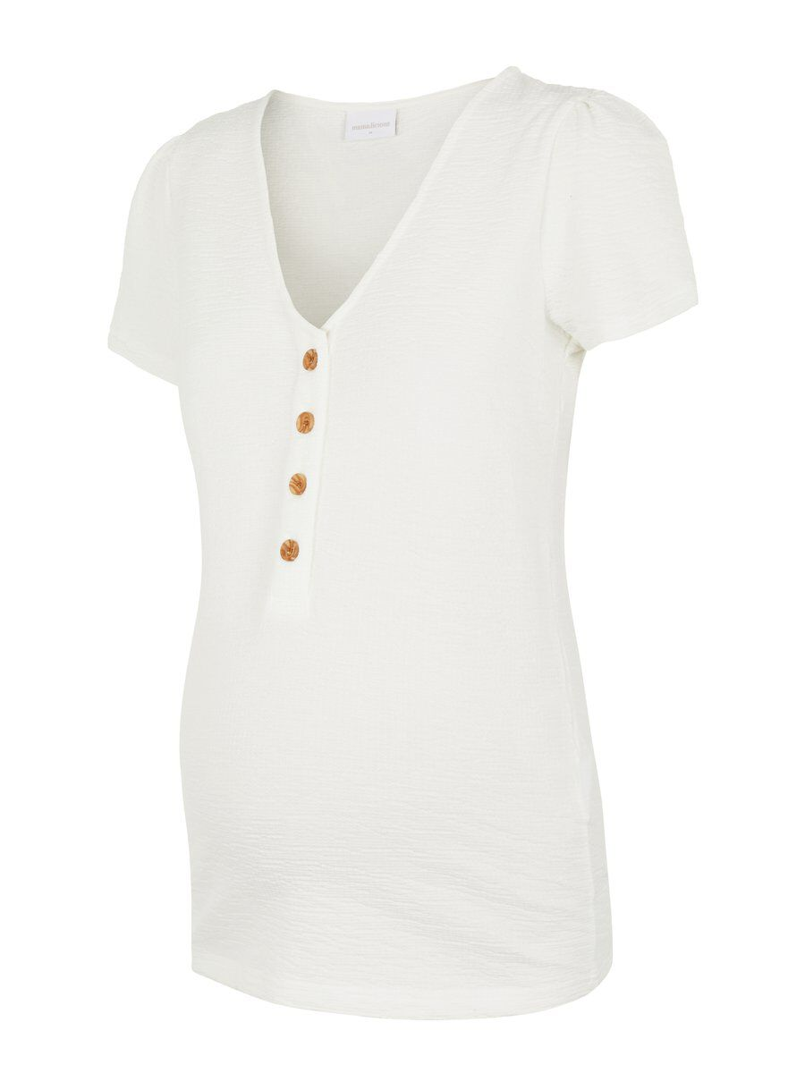 Button front 2-in-1 maternity top, mama.licious